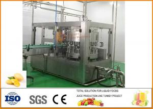 China SS304 Turnkey Mango Juice Production Line SUS 304 Stainless Steel Material on sale