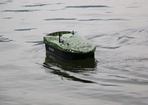 China Camouflage RC boat DESS autopilot carp fishing bait boats DEVC-118 RoHS Certification on sale