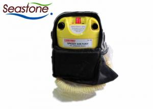 China Inflator 12v Electric Air Pump , Inflatable Boat Attachments High Pressure Multi Valve on sale