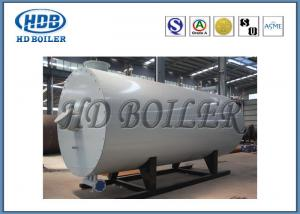 Quality Horizontal Oil Fired Industrial Steam Generators , Atmospheric Pressure Hot Water Boiler for sale