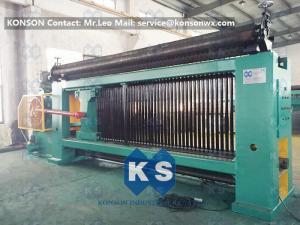 China CE Hexagonal Wire Netting Machine For Hexagonal Gabion Box Making 2.0 - 4.0mm on sale