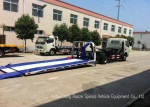 China JAC Tilt Deck Flat Bed Recovery Truck , Rollback Light Duty Wrecker on sale