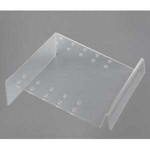 China Computer Clear Acrylic Sign Holder For Supermarket / plastic sign holders on sale