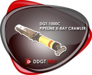 China NDT X-ray Pipeline Crawler on sale
