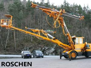 China Two Arm Drilling Jumbo Drilling Rig Machine For HZS Series Concrete Mixing Plant on sale