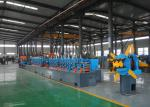 High Performance Tube Mill Machine , Square Pipe Production Line