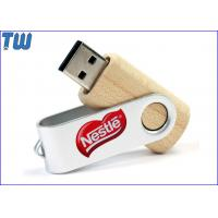 Bulk Classic Twister Wooden Cover 2GB Thumbdrives USB Storage Disk