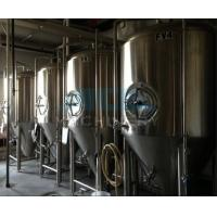 beer brewing equipment/dimple plate jacketed beer fermenter, bright beer tank 100-3000L