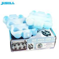 China Factory Custom Reusable 6 pack beer bottle cooler holder for Drink cooling on sale