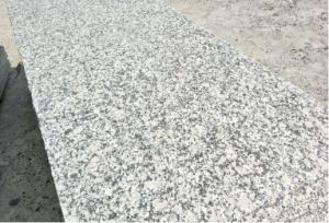 China Cheapest Chinese Pearl White Grey granite ,White Granite tiles,Step,Slab on sales on sale