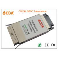 CWDM GBIC Transceiver module 1.25G 80KM , 1270nm to 1610nm for Network