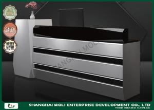 China OEM & ODM Large wooden cash counter in shops , cash register display counter on sale