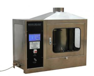 China Building Material Flammability Test Furnace with Touch Screen Control on sale