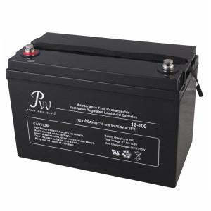 China Solar VRLA AGM Battery Sealed Lead Acid Battery 12v 100ah For General Purpose on sale