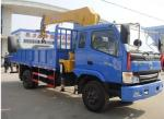 Dongfeng diesel 95hp 3ton telescopic boom mounted on truck, hot sale best price dongfeng 4*2 RHD 3tons truck with crane