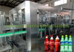 Gas Water Soft Drink Redbull Bottle Filling Machine For Carbonated Beverage Plant