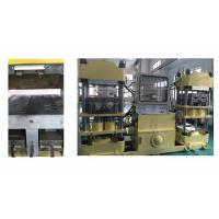 400 Ton Rubber Brake Pad Making Machine / Four  Cylinder Pressure Hot Press Machine