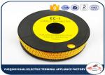 High precision Plastic Colorful Cable Marker For Electric Wires