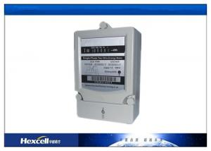 China DDS Series Electrical Single Phase Kwh Meter , 1 Phase Digital Energy Meter on sale
