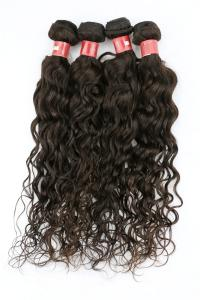 China Tangle Free Clip In Natural Human Hair Extensions Brazilian Deep Curly Weave on sale