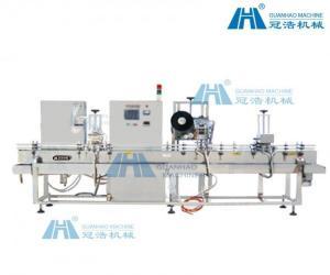 China Sulfuric Acid Liquid Bottle Filling Machine , Automatic Liquid Filling Machine on sale