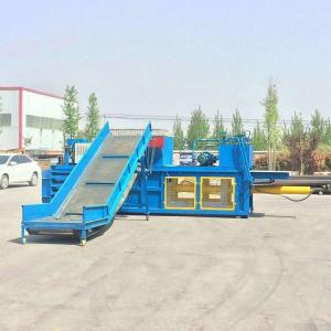 China Plastic Balers Pressing Machine/Waste Paper /Horizontal Hydraulic Cardboard Box Baling Press on sale