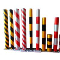 Red White Reflective Sheeting For Traffic Signs Hazard Warning 1.24M X 45.7M / Roll