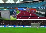 Flexible P16 Outdoor Full Color LED Display Stadium Perimeter Waterproof IP65