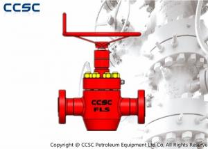 China CCSC Large Diameter Gate Valves , API 6A Approved Pressure Seal Gate Valve on sale
