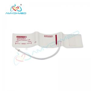 China Disposable nibp cuff, non-invasive blood pressure cuff without bladder on sale
