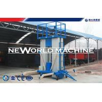 12m 100kg One Man Aerial Work Platform Safety Hydraulic Raising Platform