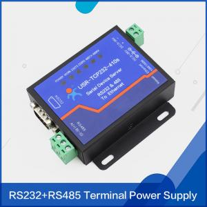China USR-TCP232-410S RS232 RS485 to TCP/IP Converter Serial Ethernet Server Free Ship on sale