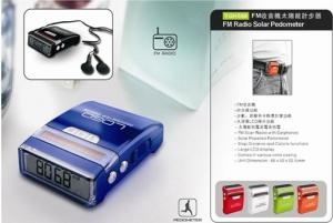 China ABS 6 digits LCD display alarm clock Pedometer with CE & ROHS on sale