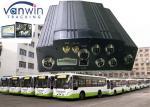 Caminhão antivibração HDD DVR móvel 720P/1080P do padrão 4CH com 3G/4G GPS WIFI