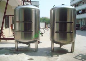 China Multi Media Filter Tank Stainless Steel Filter Housing for Pre - filtration in Water System on sale