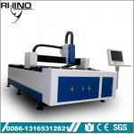 Industrial Fiber Metal Laser Cutting Machine With 750W Raycus Laser Generator