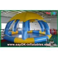 PVC DIA 5m Summer Inflatable Sports Games Inflatable Swimming Pool With Roof Cover