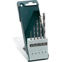 HSS Titanium Coated Drill Bits Plastic Case For Metal With Bright Finished