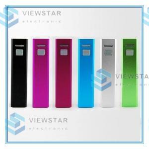 China iPhone / Samsung Portable External Backup Battery Charger Mini Vertu Metal 2600mAh on sale