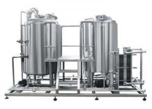China 5BBL Pub Brewing Systems SS304 Steam Heating In Beer Production Line Energy Saving on sale