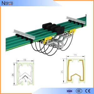 China Aluminum Conductor Rail System Busbar / Single Pole Cross Travel System JDC-H on sale
