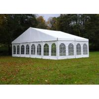Fireproof Outside Party Tents , 60 Seater Event Canopy Tent Easy Assembly