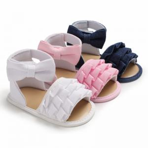 China 2019 summer colorful flower shoes baby girl toddler sandals on sale
