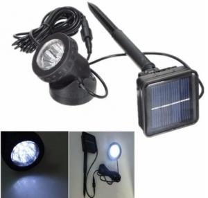 China Solar Powered 6 LED Outdooors Garden Landscape Yard Lawn Spot Lightt Light Lamp on sale