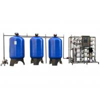 China Automatic Sand/ Carbon/ Softener Filter 5000LPH RO Water Treatment System with UV sterilizer on sale