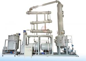 China No Pollution Black Waste Oil Distillation Equipment Recycle Engine Oil on sale