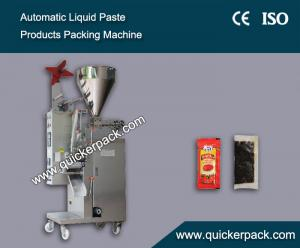 China Automatic Liquid Sauce Packaging Machine on sale