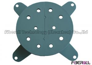 Quality Grey Fiber Storage Tray And Winding Wheel With Two Ears For Fiber Termination for sale