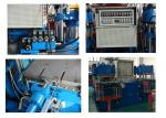 400 Ton Hydraulic Press Rubber Bumper Making Machine With Two Press plate
