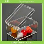 Polycarbonate Rectangular Clear Plastic Enclosure Box